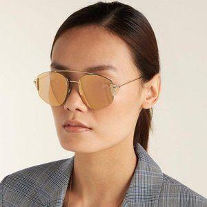 BRAND NEW DIOR STRONGER J5G0J Gold/Pink Sunglasses